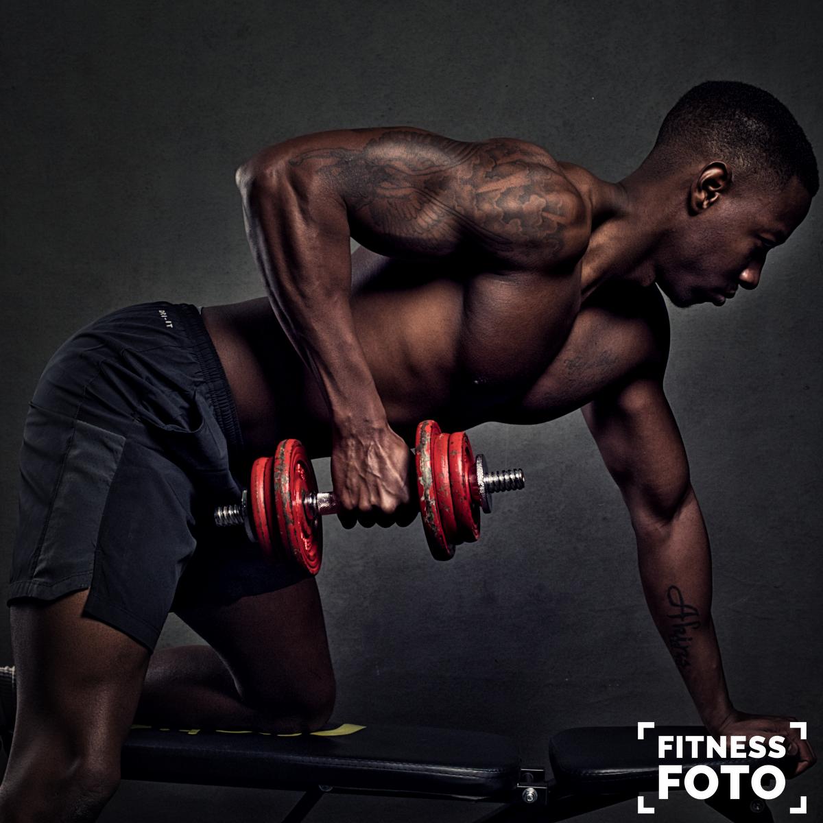 dubells ad biceps
